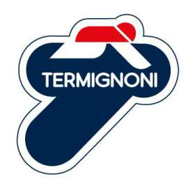 "TERMIGNONI DUCATI MONSTER  SLIP-ON CARBON ""SHORTY""  96116707B"