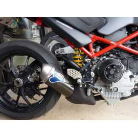 "TERMIGNONI DUCATI MONSTER  SLIP-ON CARBON ""SHORTY""  96116707B"